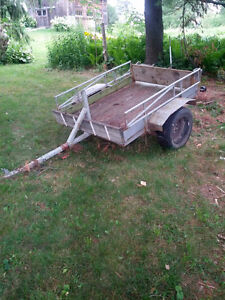 Utility trailer 6 x 5 foot box $350.00