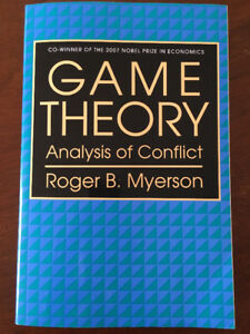 Game Theory: Analysis of Conflict - Robert B. Myerson