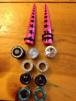 Plugs:00g and 7/16