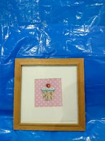 Photo Frame Brown Colour - Height 40.5 cm Width 40.5 cm