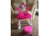 Little girls dressing table