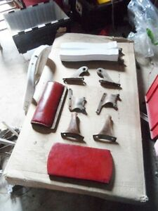 ANTIQUE BARBER CHAIR PARTS London Ontario image 4