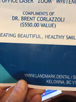 Zoom teeth whitening session