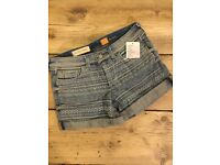 Anthropologie denim shorts size 8-10 UK/26 US
