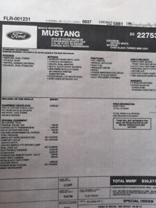 2014 mustang Club of America , Premium, Glass roof +++++