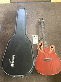 OVATION ACOUSTIC GUITAR FOR SALE