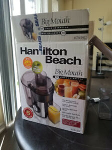 Juicer - Hamilton Beach (Big Mouth)