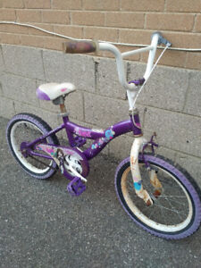 "$15 for girl's 16"" BMX bike"