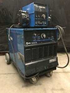 Miller Dimension 652 Welder with Dual-Sided Wire Feeder