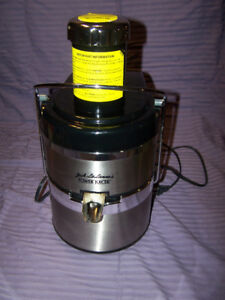 JACK LALANNE'S POWER JUICER, LIKE NEW