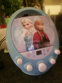 Frozen karioki/CD player for sale
