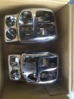 14-Later Harley Touring Chrome Switch Housing