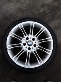 "18"" single BMW MV2 E46 3 series style 135 alloy wheels (139)"