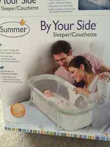 Baby side by side sleeper by Summer
