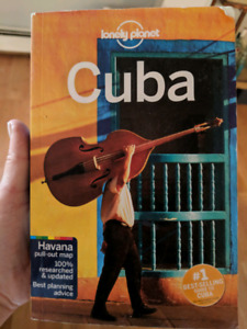 Cuba travel book by lonely planet