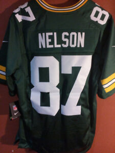 Brand New Nike Green Bay Packers Jordy Nelson jersey