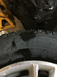 15 inch Michelin X Ice Civic rims and tires St. John's Newfoundland image 4