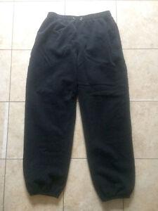 M Black WindRiver sweat pants