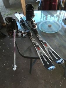 Skis / Boots / Bindings / Poles