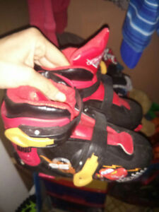 Boys skates for sale (cars)