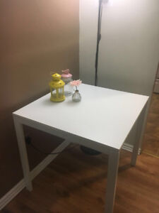 IKEA white table