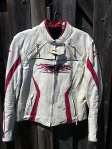 womans size 10 motorcycle jacket.