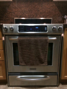 KitchenAid Stainless Steel Electric Stove
