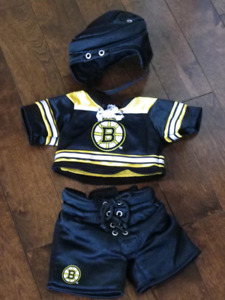 Boston Bruins Build-a-Bear outfit