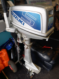 Suzuki DT 5hp outboard, spares or repairs
