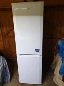 Beko half and half fridge freezer nearly new condition £70