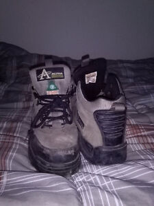 CSA Steel Toe Boots Size 7