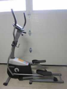 Tempo Elliptical Machine gym weights exercise
