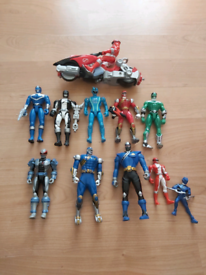 Selection of Power Rangers Figures