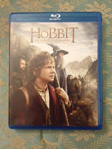The Hobbit An Unexpected Journey 2 Blu-Ray + 1 DVD Disc New