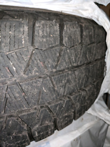 "15"" Bridgestone Blizzak Ws80 with VW rims"