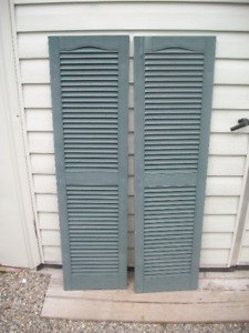 14 SHUTTERS (10 Large and 4 Small)