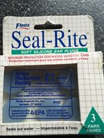 Seal-rite soft silicone ear plugs