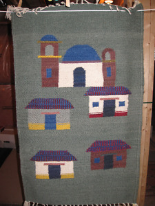 Mexican Rugs & Pottery