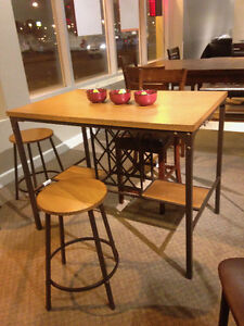 Kitchen Table and 4 Bar Stools