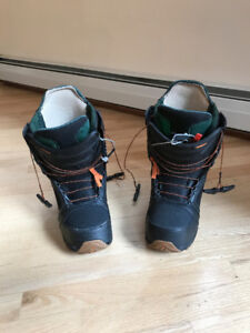 BURTON MENS IMPERIAL SNOWBOARD BOOTS - SIZE 10