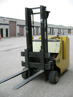 Reduced! Yale Standup Electric Forklift Truck with 120Vac Charge