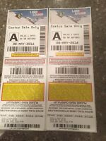 Trade two lake Louise day passes for two fernie.