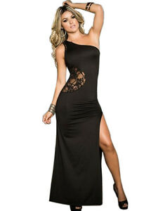Black Evening Dress Party Salsa maxi xs sexy