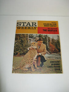 1965 STAR WEEKLY WITH 4 PAGES OF THE BEATLES