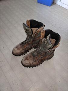 Men's Irish Setter Hunting Boots Size 10 1/2