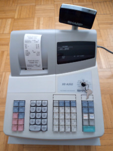 Sharp XE-A202 High-Speed Electronic Cash Register for sale.