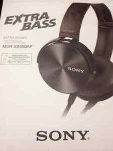 SONY XB450AP Extra Bass Headphones Regina Regina Area image 3