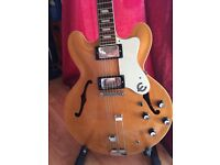 Epiphone Riviera (peerless) with hard case...