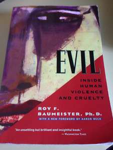 UW Psych 232: Evil Inside Huma Violence and Cruelty Textbook