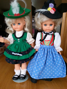 2 Vintage Engel German dolls